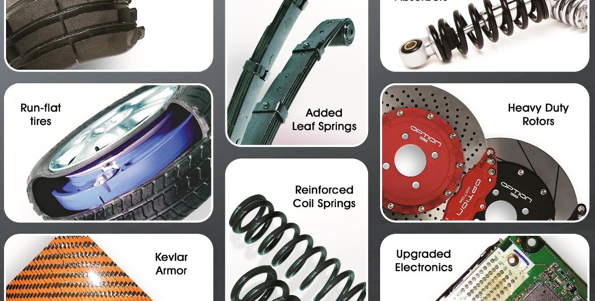Replacement Parts for Armored Vehicles – CSI Armoring Inc